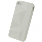 Силиконовый чехол для iPhone 4/4s Diamond White