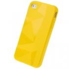 Силиконовый чехол для iPhone 4/4s Diamond Yellow