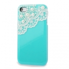 Чехол для iPhone 4s с кружевом (Lace & Pearl)
