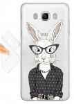 Силиконовый чехол Гламурный кролик