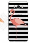Силиконовый чехол Оригинальный фламинго