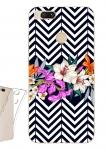 Чехол для Xiaomi Mi A1 Геометрия с цветами