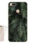 Чехол для Xiaomi Mi A1 Зеленые листья